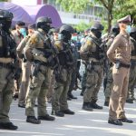 รองผู้บัญชาการตำรวจภูธรภาค 6 เป็นประธานพิธีปล่อยแถวระดมกวาดล้างอาชญากรรม